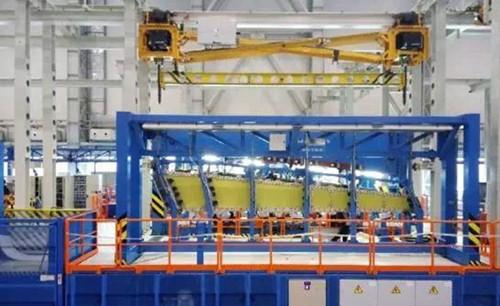 架飞机上,平尾部件就是通过aritex公司提供的自动化装配线制造完成的